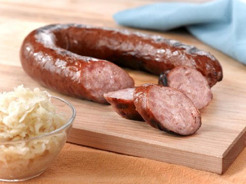 Smoked Garlic Kielbasa Sausage 3 lbs. made in New England
