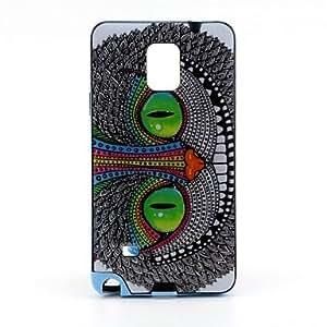 Teléfono Móvil Samsung - Cobertor Posterior - Gráfico/Diseño Especial - para Samsung Galaxy Note 4 ( Multi-color , Plástico )