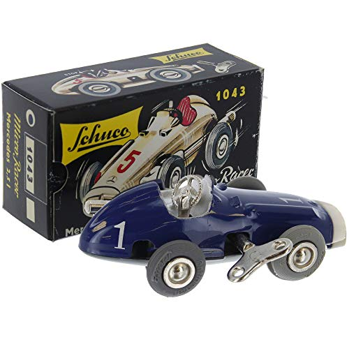 Schuco 1043 Mercedes Blue Original, Micro Racer 2.5L Diecast Car Model - Vintage Collectible Toy/Unopened Box from Schuco
