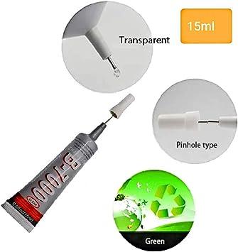 GXIMP - Pegamento adhesivo en tubo B7000 (15 ml, con punta de ...