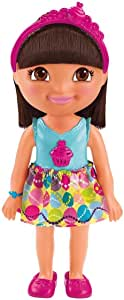 Fisher Price BGY12 The Explorer Sing & Celebrate Dora Doll - Blue and Pink