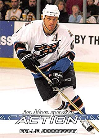 2003-04 In The Game Action Hockey  522 Calle Johansson Washington Capitals 8eab81f8348f