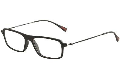 90dcdafc65fa Image Unavailable. Image not available for. Color  Prada Sport PS03FV  Eyeglasses-DG0 1O1 Black ...