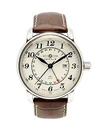 Graf Zeppelin Dual Time, GMT Watch 7642-5