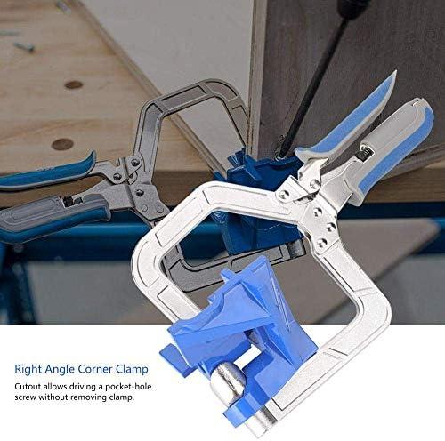 ZT-TTHG 90°コーナークランプ、調節可能な多機能木材ボード大工、木工、エンジニアリングフレーミングのための90度直角コーナークランプ木工クランプハンドツール