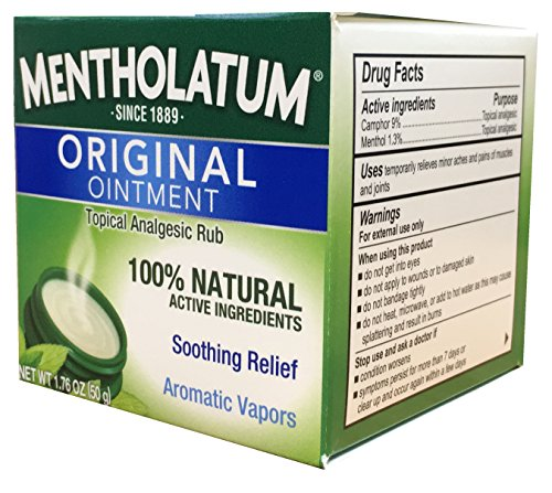 Ointment Aromatic (Mentholatum Original Ointment 1.76 Ounce (Pack of 2))