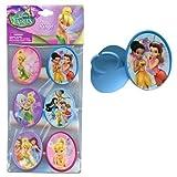 Disney 6pk Fairies Cupcake Topper Rings