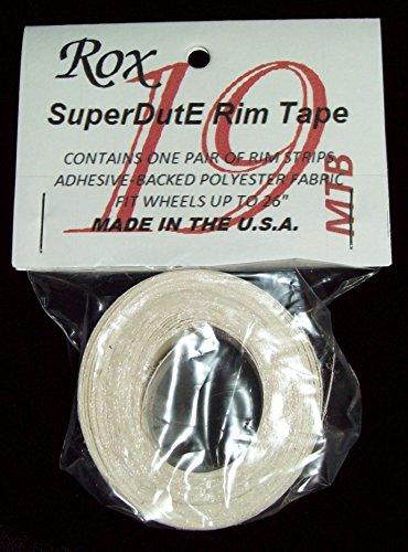 "ROX SuperDutE Rim Tape 19mm Width 26"" Length Pair"