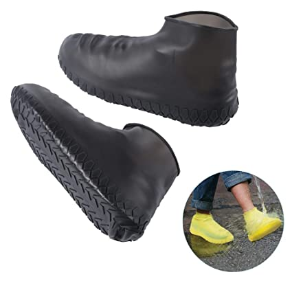 3b3e4c02553e9 Cutedoy Shoe Covers, Outdoor Waterproof Silicone Shoes Covers and Reusable  Rain Boots for Cycling,Outdoor,Camping,Fishing,Garden