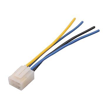 GOOFIT 4 Leitungen Steckverbinder Harness-Adapter-Kabel mit Clip für ...