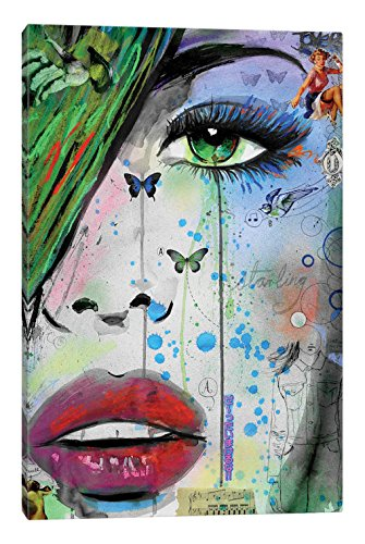 iCanvasART Starling Canvas Print by Loui Jover 26 x 18