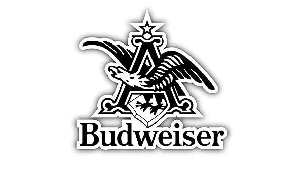 valstick Bud Light Beer Logo Grunge Car Bumper Sticker Decal