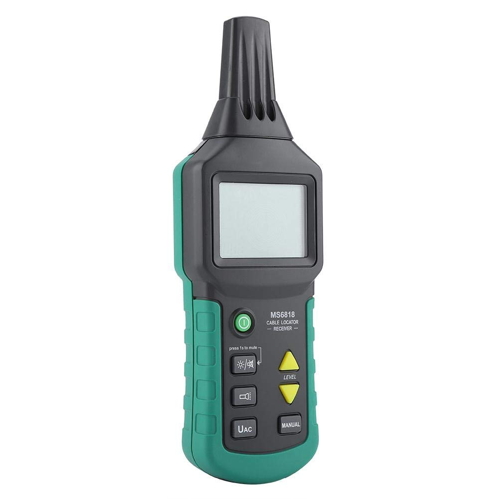 testeur de localisateur de c/âble 12V-400V AC//DC c/âble t/él/éphonique d/étecteur de tuyaux souterrain c/âble coaxial Traqueur de c/âble d/étecteur de tuyaux enterr/é avec suivi ligne