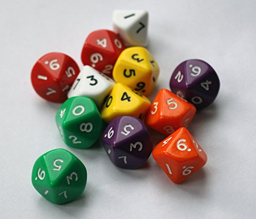 10 sided dice - 2