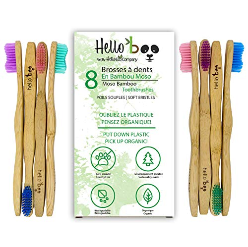 hello boo bamboo toothbrush soft
