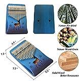 Kalimba 17 Keys Thumb Piano with EVA