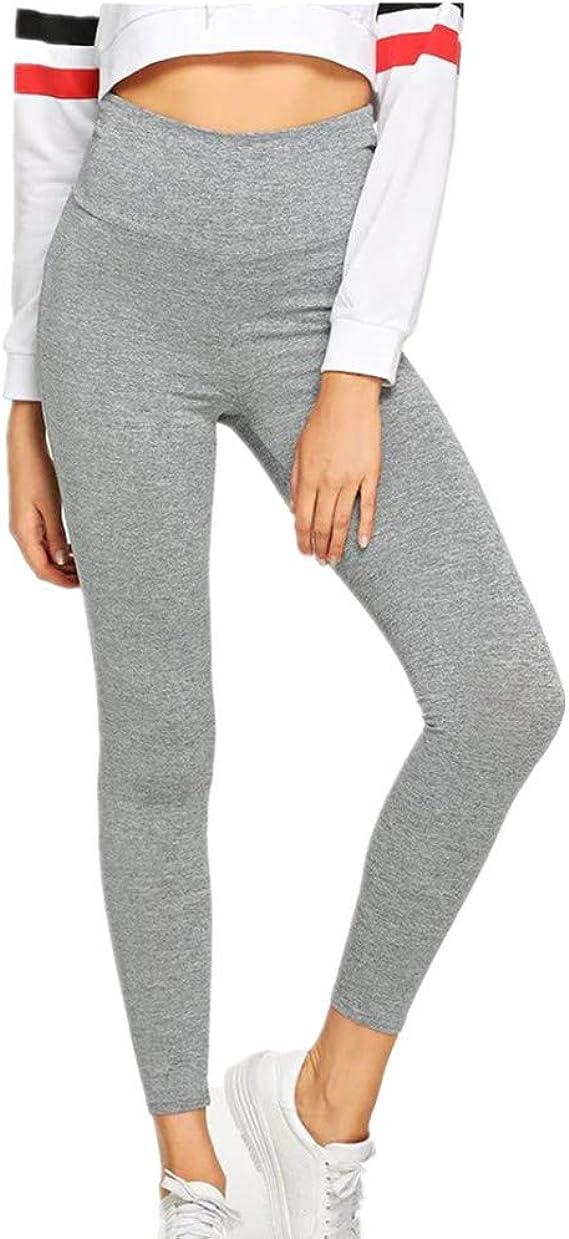 nonbranded Leggings de estiramiento cruzado para mujer Pantalones ...