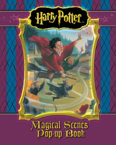 Harry Potter Magic Scenes Pop-up Book – HPB
