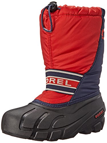 Sorel Youth Cub S R Cold Weather Boot , Sail Red, 13 M US Li