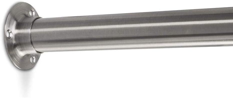 Sotech 8 Paar Schrankrohrlager 30 x 15 mm zum Anschrauben Kleiderrohr Halter Schrankrohrtr/äger Kleiderstangenauflager von SO-TECH/®