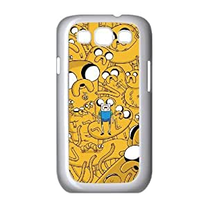 Adventure Time Unique Design Cover Case with Hard Shell Protection for Samsung Galaxy S3 I9300 Case lxa#7133381