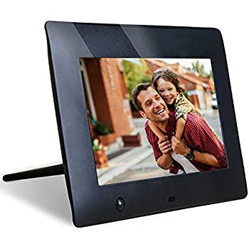 NIX 7 Inch Hu-Motion Digital Photo Frame - X07E. Motion Sensor for Auto On/Off & Hi Res 800 x 480 Screen
