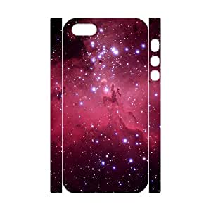 YCHZH Phone case Of Red Nebula Cover Case For iPhone 5,5S