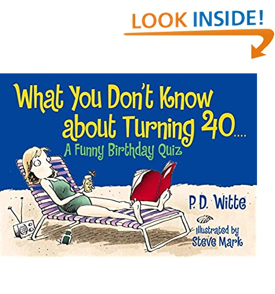 40th Birthday Saying With Candy Bars Fortieth Ideas Source Turning 40 Amazon Com