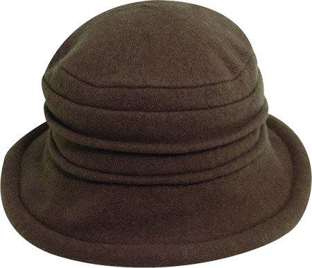 Scala (Brown Cloche Hat)
