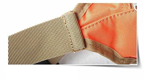 Multi-Funcional Deportes Ocio Al Aire Libre Impermeable Corriendo Bolsillos , three camouflage orange