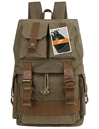 Leaper Canvas Backpack Rucksack Olympus product image