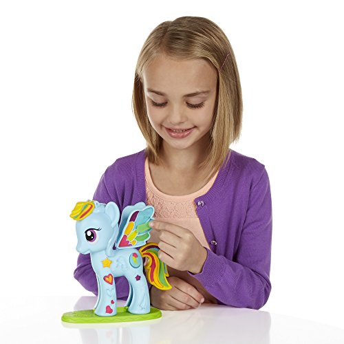 Play-Doh My Little Pony Rainbow Dash Style Salon Playset
