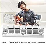 Guitar Bridge Tailpiece, 6 String Guitar Simple Bridge Luthier Parts DIY Music Instrumental Accessory
