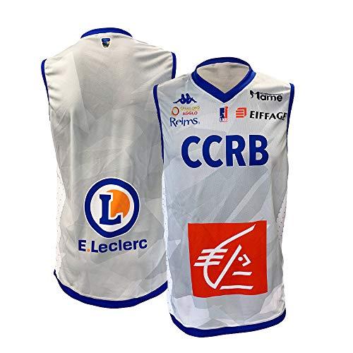 CCRB Reims Ccrb Offizielles Trikot 2018 – 2019 Basketball Unisex XL grau