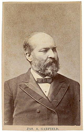 Cdv Card (James A. Garfield CDV On Old Advertising Card)