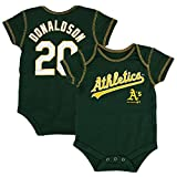Outerstuff Josh Donaldson MLB Oakland Athletics Jersey One Piece Creeper Newborn (3M-18M)
