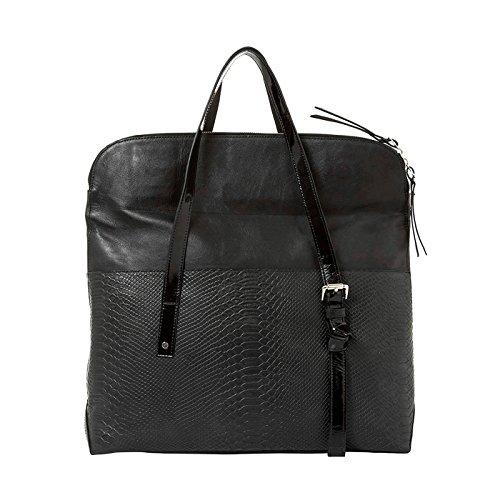 Amazon.com | VÉLEZ 20169 Women Leather Business Briefcase | Maletín De Cuero Mujer Black | Briefcases