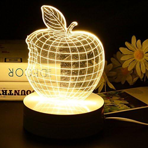 Créatifs Apple logo changeant de couleur lampe chambre
