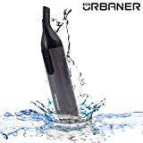 URBANER MB-062 Waterproof Facial Hair Trimmer, Eyebrow Trimming Grooming Kit for Men