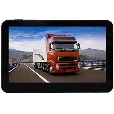 "Eleacc 7"" Inch Truck Lorry GPS US CA Maps Lifetime Maps Update 8GB"