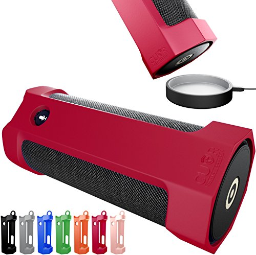 Amazon Tap Case Sling Cover by Cuvr | Easy to Dock and Anti Roll Accessories (Red)