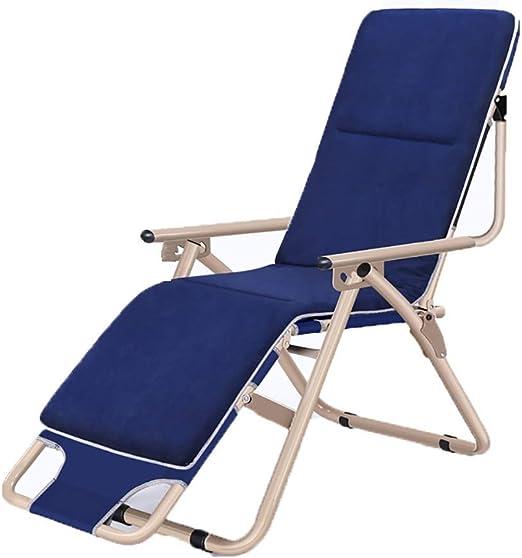 YLCJ Silla de Camping Gravity Garden Deckchair, Silla Plegable ...