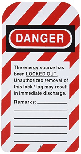 Honeywell ELA255/1 Lockout Tag,''Do Not Open'' (Pack of 25) by Honeywell (Image #2)