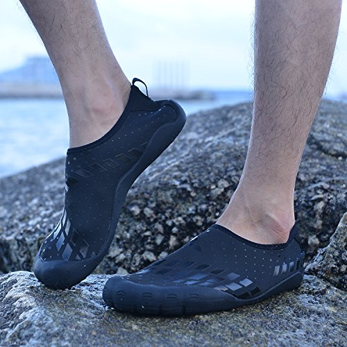 Pictures of APTESOL Unisex Beach Barefoot Water Shoes Womens Mens Water Shoes 3