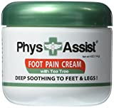 PhysAssist Foot Pain Cream- 3 pack