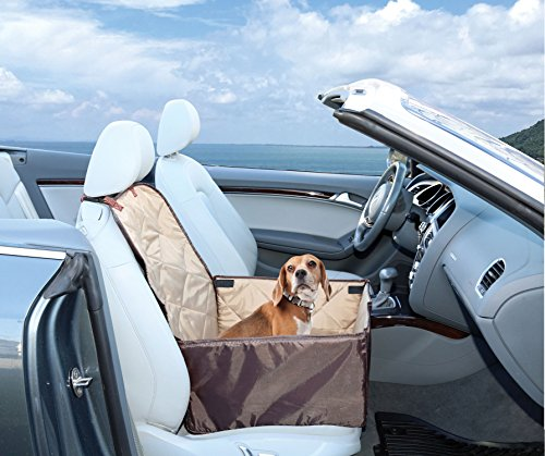 Ideas In Life Dog Car Seat Cover - 2 in 1 Bucket Seat Cover and Car Pet Seat - With Seat Anchor Strap and Dog Leash Connector by Ideas In Life (Image #4)