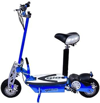 Amazon.com: Gio Cobra 1000 W Juguete eléctrico Scooter azul ...