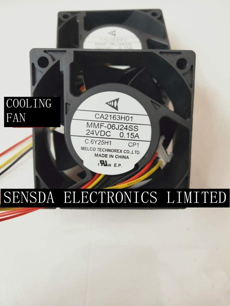 NEW MELCO FOR Mitsubishi servo frequency CA2163H01 MMF-06J24SS-CP1 0.15A cooling fan