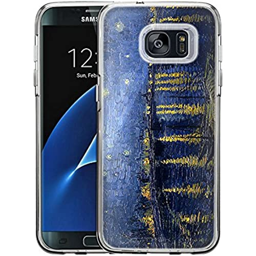 Samsung Galaxy S7 Edge Case, Snap On Cover by Trek Starry Night Over the Rhone One Piece Trans Case Sales