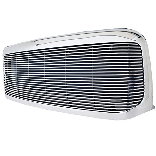 Paramount Restyling 42-0319 Full Replacement Packaged Billet Aluminum Grille with 4 mm Horizontal Bars